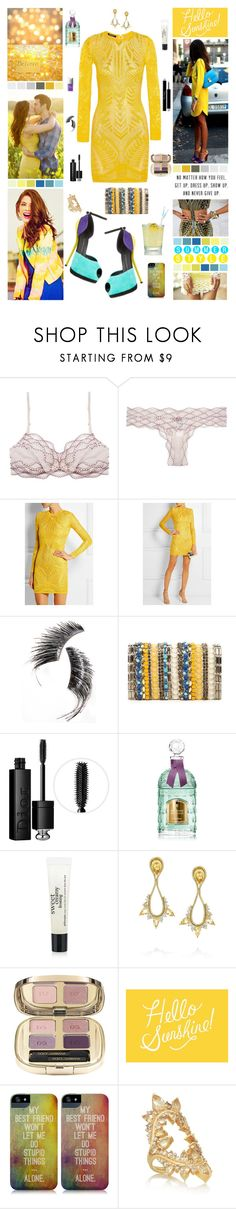 """""""``oh, oh, oh, oh, i think there's a flaw in my code"""" by sjorcdanw ❤ liked on Polyvore featuring Balmain, Alexander McQueen, Seed Design, Beauty Is Life, Alice + Olivia, Christian Dior, Lilly Pulitzer, Guerlain, philosophy and Fernando Jorge"""