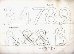 FF Meta Original Sketches 1985 #ffmeta #spiekermann #fontfont https://www.fontfont.com/fonts/meta