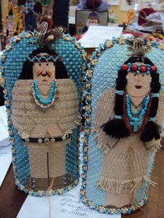 Kathy Schenkel Designs Thanksgiving Indian needlepoint