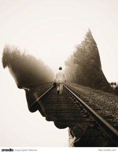 """""""Geçtiğim tüm yollar size açılıyor. Sonunda hep size geri döneceğim..""""Amerikalı fotoğraf sanatçısı Brandon Kidwell"""