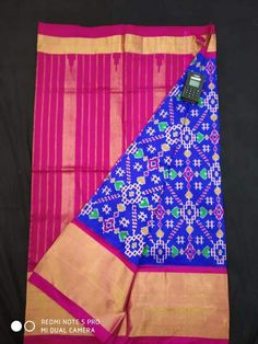 Pochampalli ikat silk saree was made with fine quality of silk threads with zari border with a beautiful design by using special weaving method for all the women which looks traditionally rich in any occasion. Beautiful saree in attractive design with unique designed pallu and blouse with silk threads.our weavers specially designed for all the women with specifically picked pure silk threads that feels comfort, simple, lite weight. Handloom Saree, Silk Sarees, Simple Blouse Designs, Saree Border, Blue Saree, Pochampally Sarees, Traditional Looks, Beautiful Saree, Silk Thread