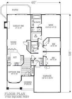 Image result for 3 bedroom house plans 1200 sq ft