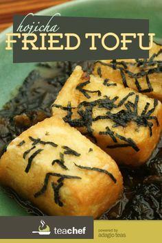 Hojicha Fried Tofu by Clara Lee: