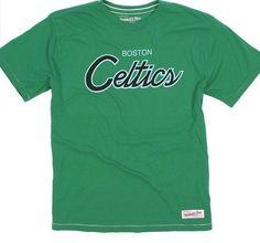 FREE U.S. Shipping! NWT! MSRP $42.00! Boston Celtics Mitchell/Ness Shirt! Large…