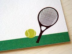 tennis thank you cards - Google Search