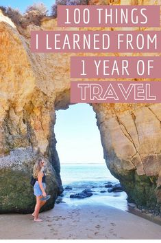 100 Things I Learned & Experienced from 1 Year of Travel