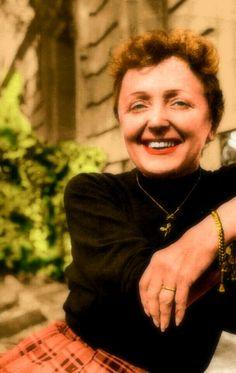 Edith Piaf Colorization