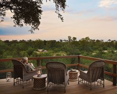 Enjoy leisurely afternoons spent on Pioneer Camp's look out deck, watch as elephant's graze beneath you, an orchestra of birds sing to you and silhouettes form on the horizon as your final show. Pioneer Camp, Plunge Pool, Game Reserve, Outdoor Furniture Sets, Outdoor Decor, Family Camping, Lodges, South Africa, Safari