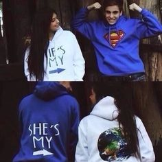Cute couple clothing.