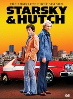 Starsky & Hutch was an American television series about two Californian policemen, Starsky played by Paul Michael Glaser and Hutch played by David Soul. Fans loved the gritty, often violent plotlines, comic banter, and particularly the close friendship th Tv Vintage, Vintage Movies, Paul Michael Glaser, Starsky & Hutch, V Drama, Comme Des Freres, Mtv, Tv Sendungen, Mejores Series Tv