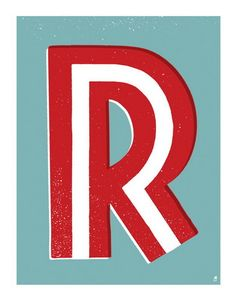 Letter R by Methane Studios - Letters - Gallery
