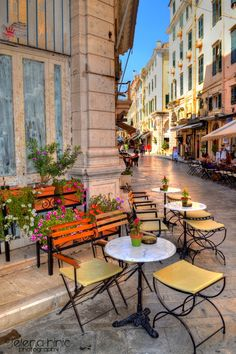 Place to be ~ Κέρκυρα ~ Kerkira City, Corfu Island,  Summer 2013.