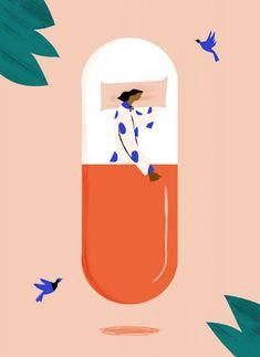 Laura Liedo - Joanie Bernstein: Art Rep Medical Illustration, Graphic Design Illustration, Illustration Art, Art Illustrations, Creative Poster Design, Creative Posters, Storyboard, Chemistry Art, Pharmacy Design