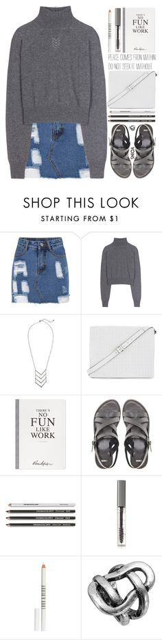 """Flowers grow back even after they are stepped on and so will I."" by alienbabs ❤ liked on Polyvore featuring T By Alexander Wang, BCBGMAXAZRIA, Selfridges, ASOS, BBrowBar, Lord & Berry, clean, organized, yoins and personalrant"