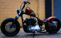1974 H-D Ironhead Bobber by Nash Motorcycle Company. http://ironhead-bobbers.com/ironhead_1974/1974_harley_xl_ironhead_bobber_by_nash.php and/or http://nashmotorcycle.com/