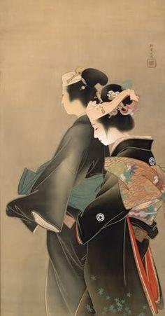 Springtime of Life, 1899, Kyoto Municipal Museum of Art  Uemura Shōen (Japanese)