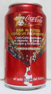 LATAS Y BOTELLAS COLECCIÓN: LATA COCA COLA ARGENTINA 2006 COPA COCA COLA