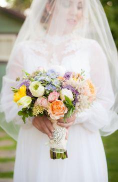 #DowntonAbbey Wedding Inspiration on SMP -  http://www.StyleMePretty.com/california-weddings/orange-county/2014/01/23/downton-abbey-wedding-inspiration-at-the-french-estate/ True Bliss Photography
