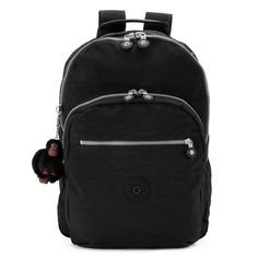 The Seoul Large Laptop Backpack is a lightweight, durable, and water-resistant backpack that a favorite for school students and travelers alike! Kipling Backpack, Kipling Bags, Laptop Backpack, Backpack Outfit, Black Backpack, Diaper Bag, Lightweight Backpack, Backpack Reviews, Stylish Backpacks