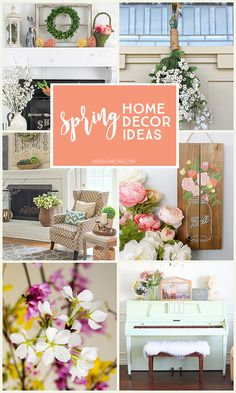Spring Home Decor Id