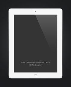 Max Di Capua - iPad 2 Template PSD
