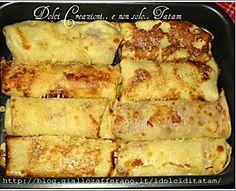 Cannelloni di crepes farciti al radicchio | ricetta pasta fresca