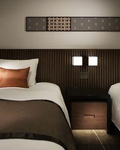 Hotel Prince Sakura by A., Tokyo Japan hotel hotels and restaurants Visual Merchandising, Hotel Safe, Hotel Bed, Hotel Guest, Hotel Room Design, Marriott Hotels, Hospitality Design, Headboards For Beds, Design Furniture