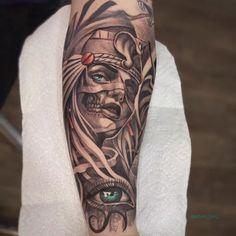 Osiris Tattoo, Bastet Tattoo, Nefertiti Tattoo, Anubis Tattoo, Egyptian Goddess Tattoo, Egyptian Eye Tattoos, Egyptian Tattoo Sleeve, Egyptian Symbol Tattoo, Tattoo Sleeve Designs