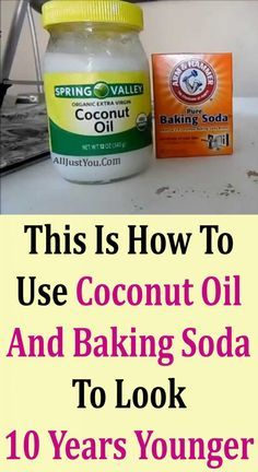 This Is How To Use Coconut Oil And Baking Soda To Look 10 Years Younger … – dandruff shampoo Baking Soda Mask, Baking Soda Shampoo, Baking Soda Facial, Baking With Coconut Oil, Coconut Oil For Acne, Coconut Oil Facial, Coconut Oil Beauty, Beauty Tips Using Coconut Oil, Beauty Tips With Baking Soda