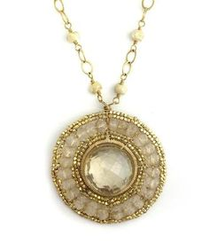 Sparkle for Sandy Relief Auction: Dana Kellin Pendant with Rosary