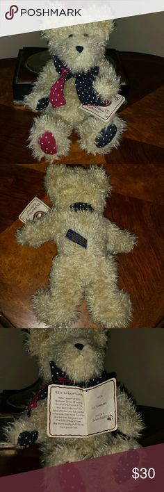 Boyds Bear Genuine Boyds Bear H.B.'s Heirloom Series. Movable parts. Great condition. Other