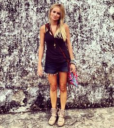Emily Maynard wearing JADEtribe's Elizabeth Messenger