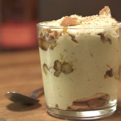 A creamy and rich Caramelized Banana Pudding Ice Cream.