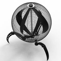 Gike Electrical 'UFO' Fan designed by Erjon Hatillari