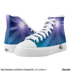 Zipz Sneakers Ludi Barrs Original Designs Printed Shoes