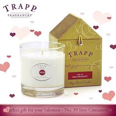 Sexy Cinnamon is the perfect gift for that special someone! Find a Trapp retailer near you today by clicking on the link in our bio. #Trappcandles   #trappambiance #valentinesday #valentine #gift #love #special #love #heart #fragrance #candle #feb14 #february #datenight #perfume #tt #cinnamon #cute #chocolate #flowers