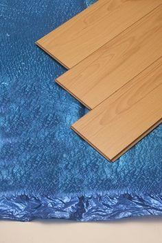 Trojan Silent Blue PLUS Underlay c/w Foil S/A Tape 3mm x 1m x 15m2 Floor Underlay, Underfloor Heating, Wooden Flooring, Solid Wood, Im Not Perfect, Tape, Home Decor, Wood Flooring, Decoration Home