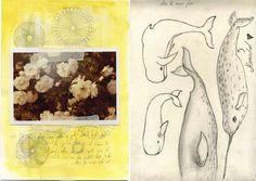 Journal, Art Journal, Whale