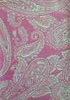 Paisley Punk And Cream Cotton Flannel Fabric 1.75 Yards - #cotton, 1.75, Cream, fabric, Flannel, PAISLEY, Punk, yards