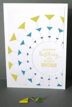 Craftilicious: Homemade stamps and hexagons