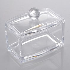 Acrylic Clear Cosmetic Make Up Case Lipstick Liner Brush Holder