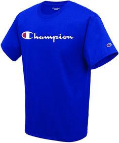 For more than 90 years, Champion   athletic wear has outfitted athletes in authentic athletic apparel before, during and after the game.... Cool T Shirts, Tee Shirts, Baby Clothes Brands, Men Clothes, Champion Clothing, Champion Sweatshirt, Branded T Shirts, Shirt Style, Mens Fashion
