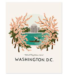 Washington, D.C. Print. In case you need some art in your life <3