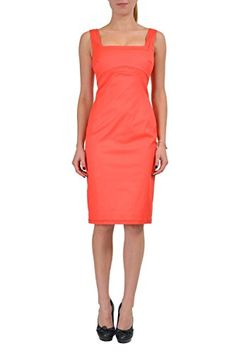 Classy Dsquared Women's Pink Drape Neck Sheath Dress US S EU 40 ...
