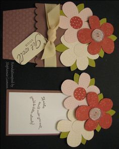 » Flower Pot Pocket Card tutorial with measurements. Yayy!
