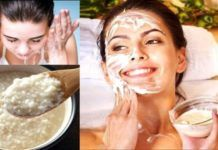 It's every woman's dream to look young and most women spend enormous amount of time and money trying different facial products that will 'erase' their wrinkles. We suggest an amazing face mask recipe Beauty Secrets, Beauty Hacks, Beauty Tips, Rice Mask, Face Care, Body Care, Salud Natural, Mascara Tips, Homemade Face Masks