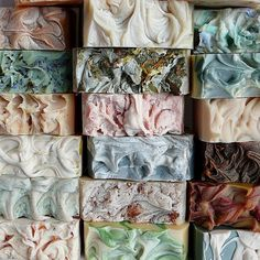 Gorgeous bubbly soap from an amazing soapmaker