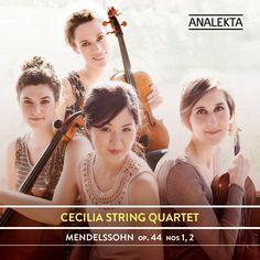 44 Nos. New Music Albums, String Quartet, Album Releases, Album Covers, Mendelssohn, October 2, Exit Room