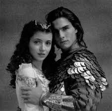 Tom Cruise and Mia Sara in Legend