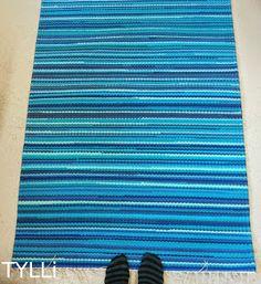 Rug Loom, Rag Rugs, Carpet Design, Rugs On Carpet, Weaving, Room Decor, Fabric, Farmhouse Rugs, Crochet Carpet